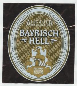 Allgäuer Bayrisch Hell