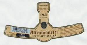 Altenmünster Hefeweissbier