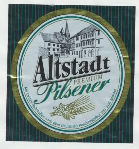 Altstadt Premium Pilsener