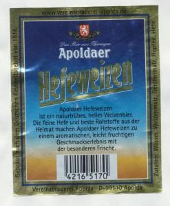 Apoldaer Hefeweizen