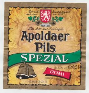 Apoldaer Pils Spezial