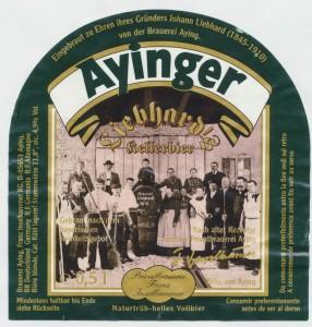 Ayinger Liebhard's Kellerbier