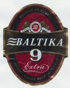 Baltika No 9 Extra Lager