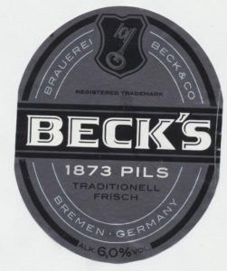 Becks 1873 Pils