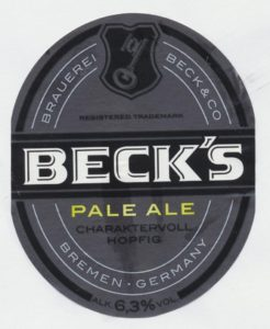 Becks Pale Ale