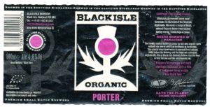 Black Isle Organic Porter