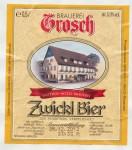 Brauerei Grosch Zwickl