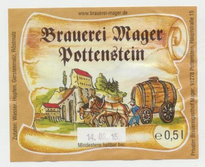 Brauerei Mager Pottenstein Dunkel