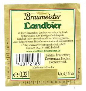 Braumeister Landbier