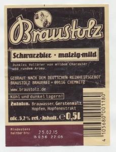 Braustolz Schwarzbier