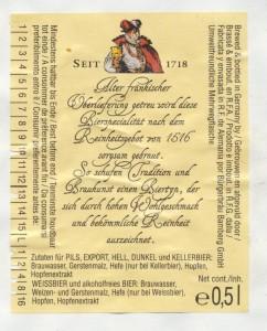 Bürgerbräu Bamberg Dunkel