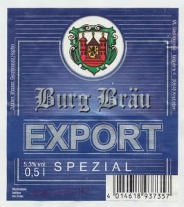 Burg Bräu Export Spezial