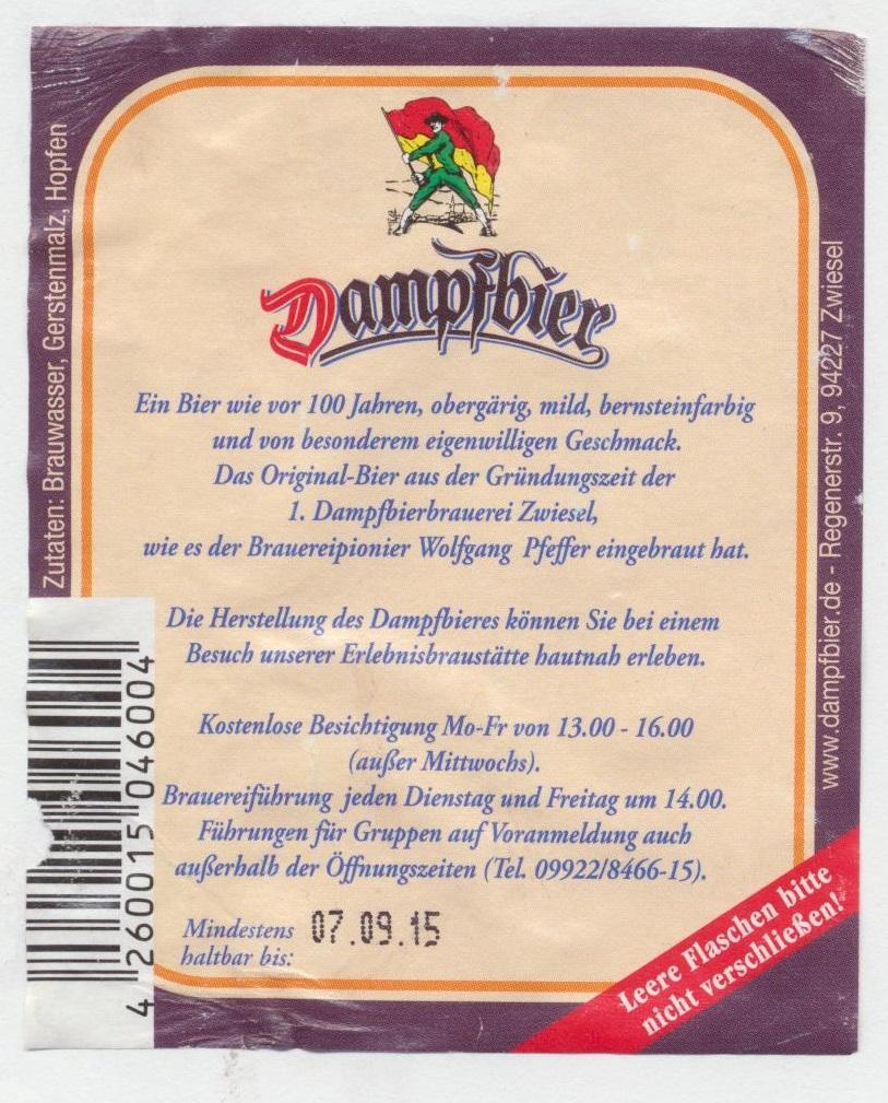 Dampfbier | BLOG-B.INFO