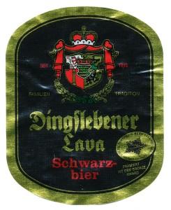 Dingslebener Lava Schwarz
