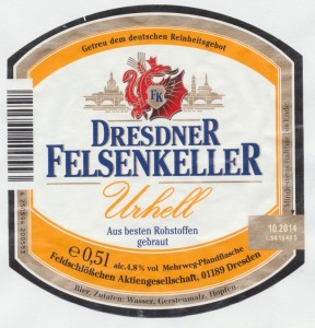 Dresdener Felsenkeller Urhell
