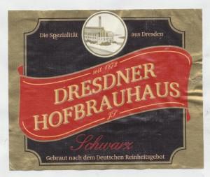 Dresdener Hofbrauhaus Schwarz