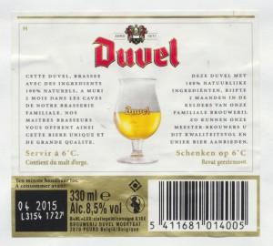 Duvel Belgisch Speziaalbier