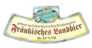 Ebensfelder Fränkisches Landbier