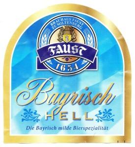 Faust Bayrisch Hell