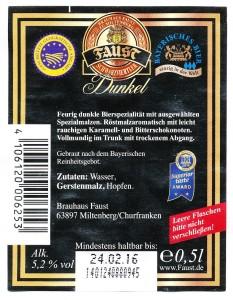 Faust Schwarzviertler Dunkel