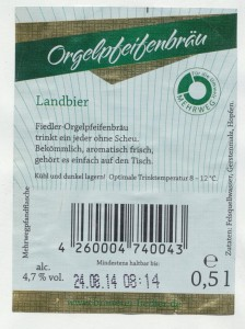 Fiedler Orgelpfeifenbräu