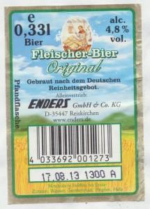 Fleischer Bier Original