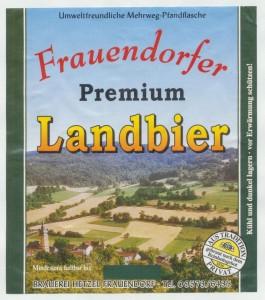 Frauendorfer Landbier Premium