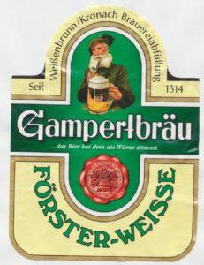 Gampertbräu Förster- Weisse