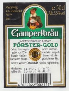 Gampertbräu Förster Gold