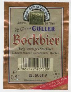 Göller Bockbier