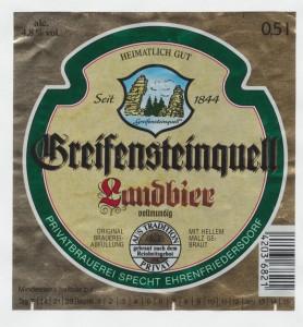 Greifensteinquell Landbier
