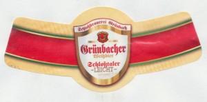 Grünbacher Weißbier Schloßthaler Leicht