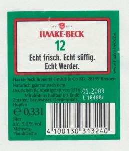 Haake- Beck 12