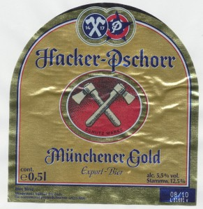 Hacker Pschorr Münchener Gold