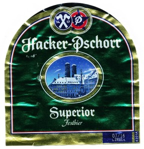 Hacker- Pschorr Superior