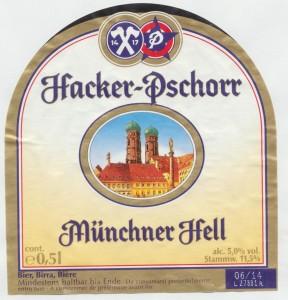 Hacker- Pschorr Münchner Hell