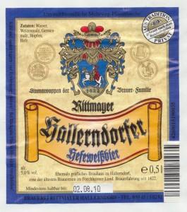 Rittmayer Hallerndorfer Hefeweissbier