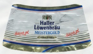 Haller Löwenbräu Meistergold Spezial