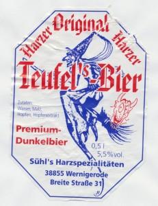Original Harzer Teufel's- Bier