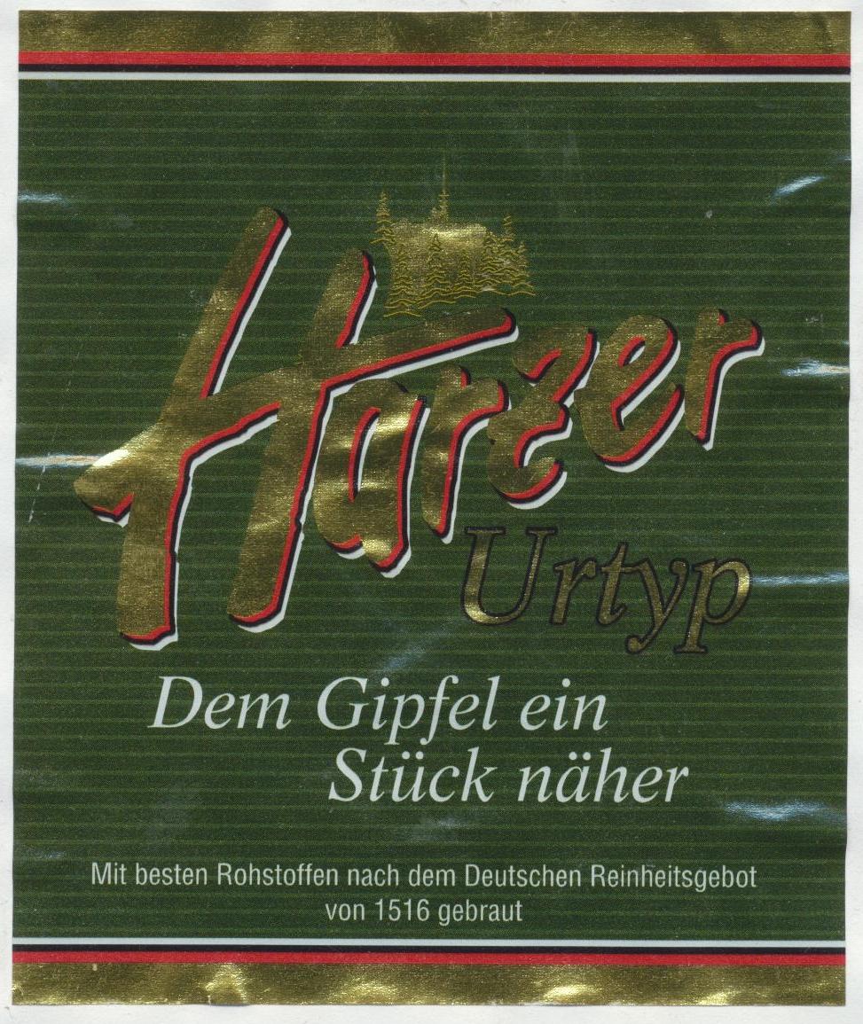 Harzer Urtyp | BLOG-B.INFO