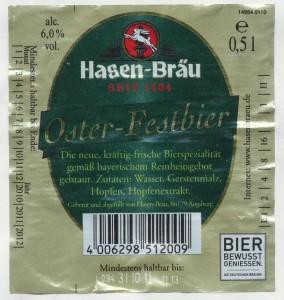 Hasenbräu Oster- Festbier