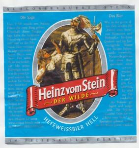 Heinz vom Stein Hefeweissbier Hell