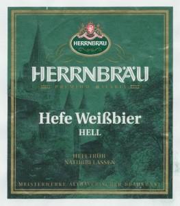 Herrnbräu Hefe Weißbier Hell