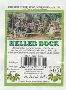 Hirschbräu Heller Bock