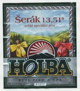HOLBA ŠERÁK 13,51