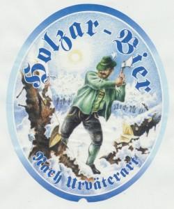 Holzar Bier nach Urväterart