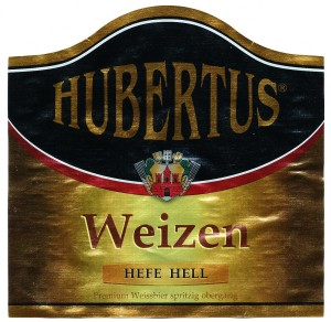 Hubertus Weizen Hell