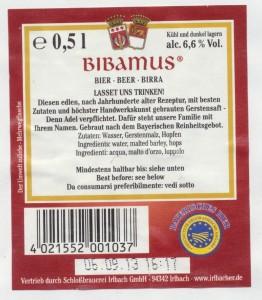 Irlbacher Bibamus