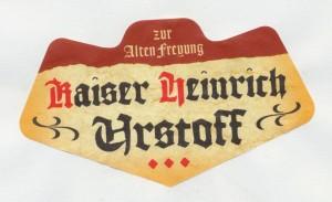 Kaiser Heinrich Urstoff