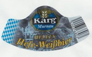 Karg Helles Hefe- Weißbier